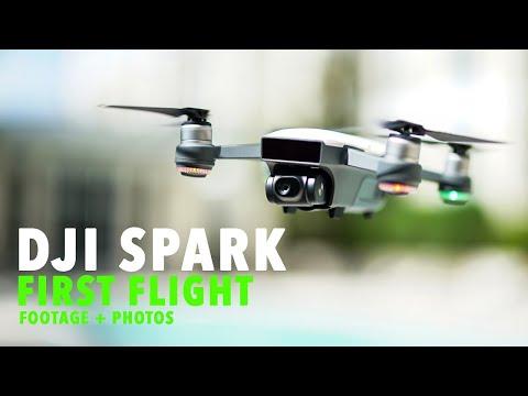 DJI Spark - First Flight