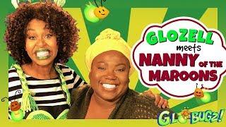 GloZell Meets Nanny of the Maroons ft. Shanna Malcolm | Black History Month | GloZell & the GloBugz