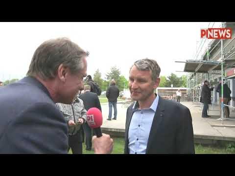 PI-NEWS-Interview Mit Björn Höcke (AfD) Am 5. Mai 2019 In München
