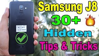 Samsung Galaxy J8 Top 30+ Hidden Freatures, Tips and Tricks in Hindi | Must Have To Know🔥