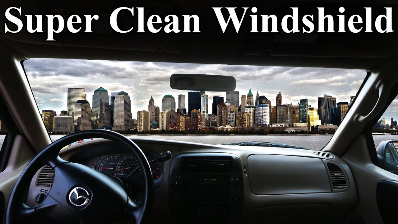 How to super clean the inside of your windshield no streaks youtube How to keep your car exterior clean