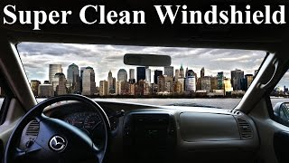 www.idyoutube.xyz-How to Super Clean the INSIDE of Your Windshield (No Streaks)