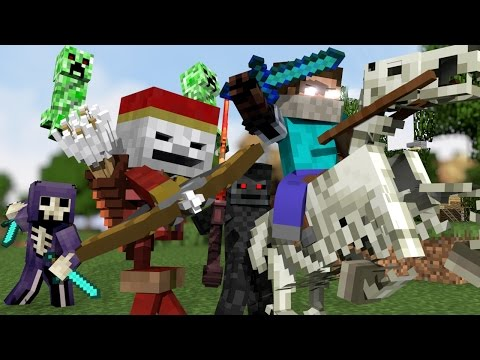 "Thumbnail: ♫ ""MONSTER CREW"" - MINECRAFT PARODY ""SHAPE OF YOU"" ♫ - ANIMATED MINECRAFT MUSIC VIDEO (2017) ♫"