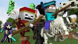 "Download ♫ ""MONSTER CREW"" - MINECRAFT PARODY ""SHAPE OF YOU"" ♫ - ANIMATED MINECRAFT MUSIC VIDEO (2017) ♫ Mp3 and Videos"