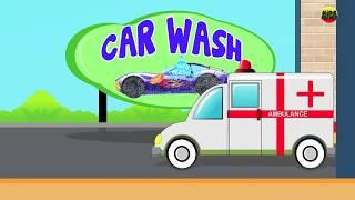 Ambulância - Lavagem de carro | Vídeo para crianças | vídeo educativo | Ambulance - Car Wash