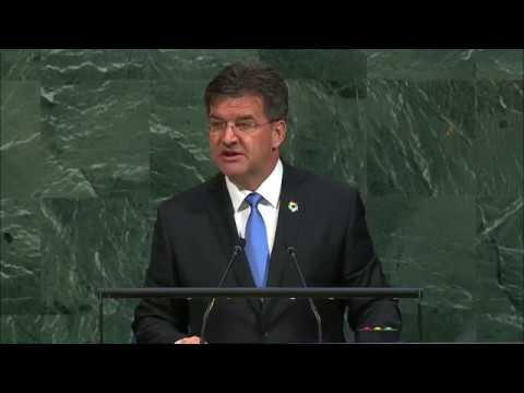 Miroslav Lajčák (General Assembly President) Addresses General Debate, 72nd session