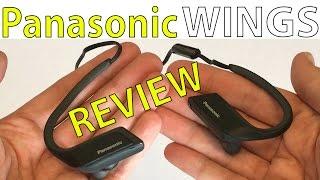 Panasonic Wings Review Wireless Sport Bluetooth Headphones - RP-BTS30