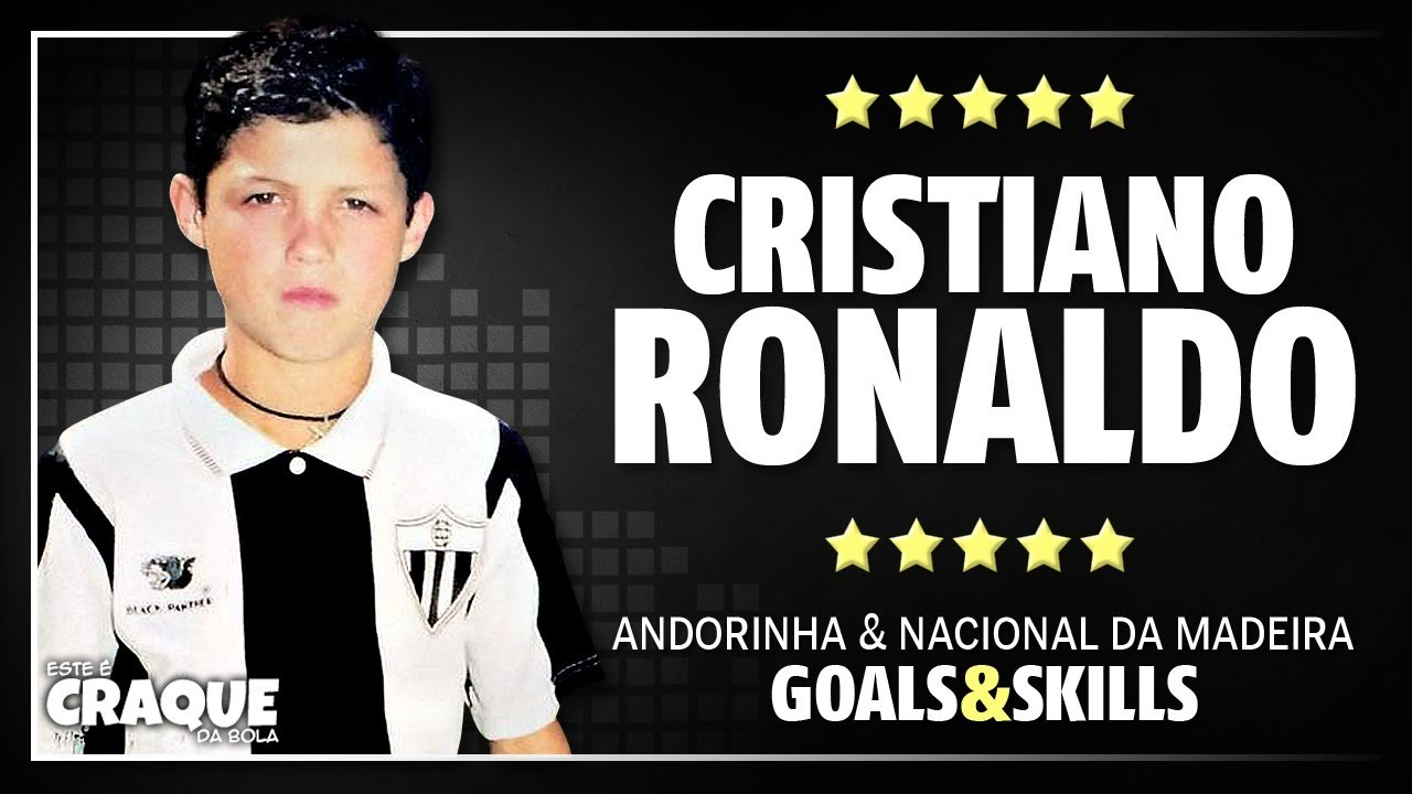 CRISTIANO RONALDO ○ Andorinha & Nacional da Madeira ○ Goals ...
