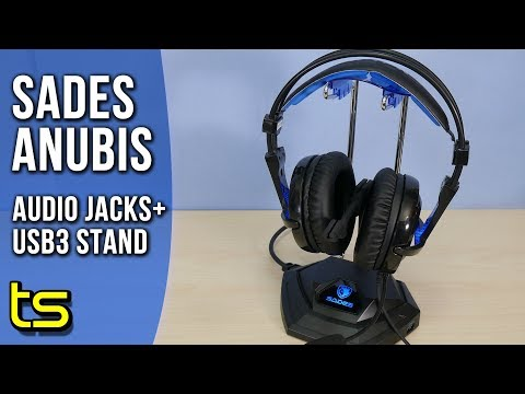 Sades Anubis Staff W10 Gaming Headset Stand Review