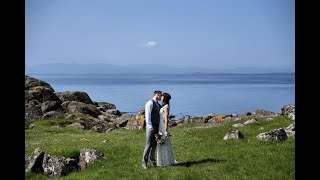 Intimate Humanist Barefoot Beach Wedding in Argyll