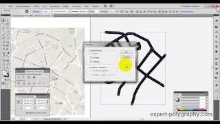 Рисуем схематическую карту в Illustrator