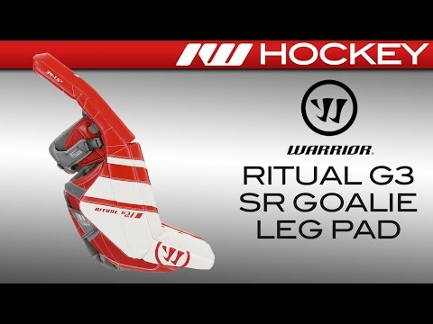 Warrior Ritual G3 Goalie Leg Pads Review