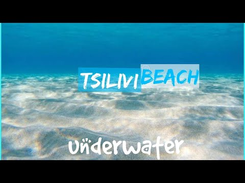 UNDERWATER IN TSILIVI BEACH - SEPTEMBER 18 2021  LOOK HOW BEAUTIFUL THE SAND  IS😍 Soooo Clean