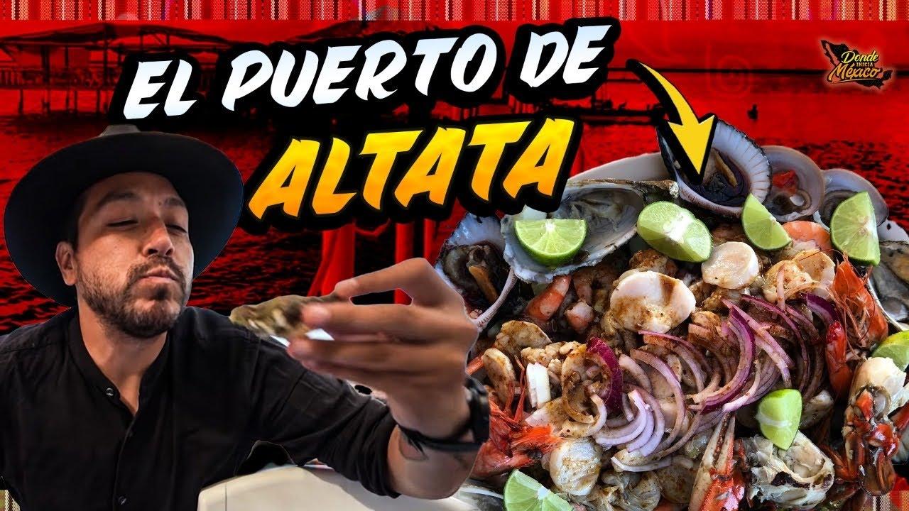 Los MARISCOS 🦐 🦞 Y CALLO DE HACHA de primera en ALTATA | Día 22 #DondeIniciaMexicoLRG