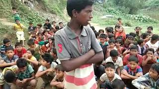 """""""Parents Less & Orphan """" Rohingya Refugee Children Demand For Justice and there is no one for them"""