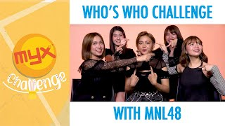 Download lagu Who's Who Challenge With MNL48