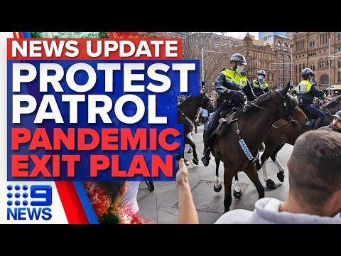 Sydney police target anti-lockdown protest with CBD exclusion zone   Coronavirus   9 News Australia