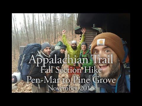 Appalachian Trail - Fall 2015 Section Hike - Southern PA