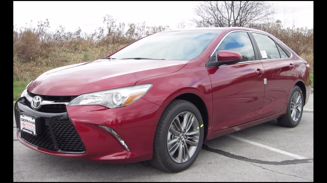New 2017 Toyota Camry Se Review