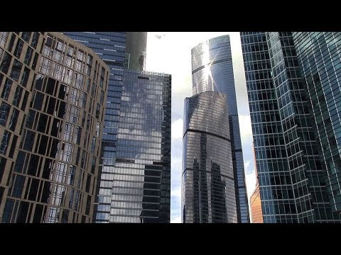 Moscow City Skyscrapers 2017 - Moscow International Business Center