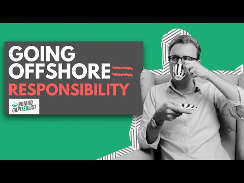 """Going Offshore Means Freedom AND Responsibility #NomadCapiTEAlist"""""""
