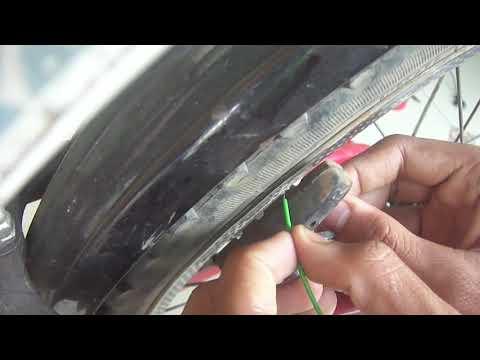 Homemade cycle brake light | Madography