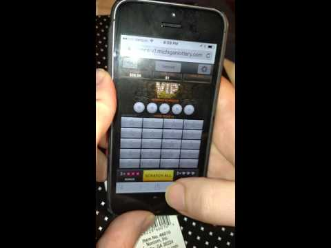 Live Play Online Michigan Lottery - VIP Black