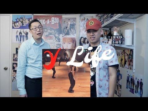 BLACKPINK Lisa - Take Me Dance Practice w/ Honey J Reaction