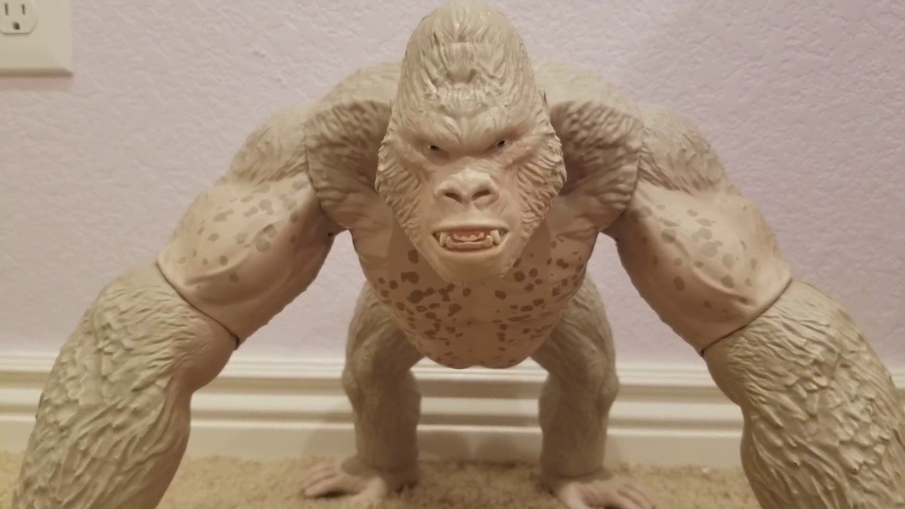 Rampage The Movie Mega George By Lanard Toys Unboxing And