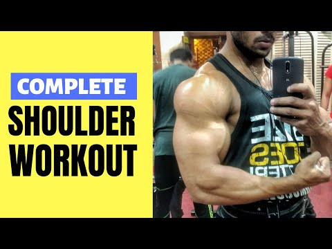 How To Get The Most Out Of This Shoulder Workout | Workout Routine To Add Serious Size