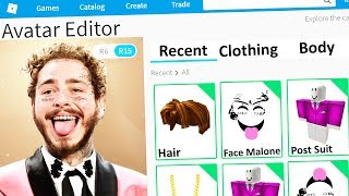 ROBLOX MAKING POST MALONE an ACCOUNT