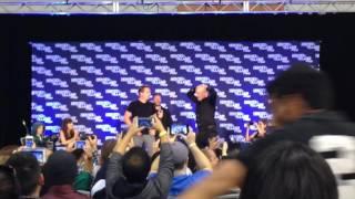 Arrow Cast & company dance off at Heroes & Villains Fan Fest