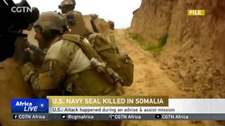 A navy seal killed & 2 wounded during raid targeting al-Shabaab