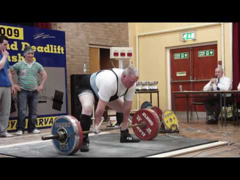 Geoff Johnston 220kg Deadlift @ 123.8kg bw