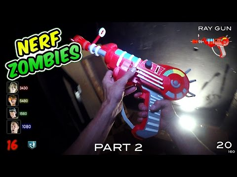 Thumbnail: Nerf meets Call of Duty: ZOMBIES 2.0 | Part 2 of 3 (First Person in 4K!)