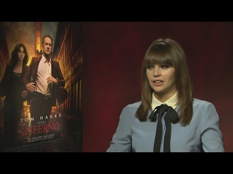 Inferno: Felicity Jones on her idea of hell