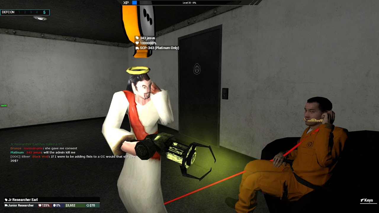 Scp 343 Identification Experiment 9 6 2019 Foundation Test Logs Gaminglight Forums Gmod Community Bryan is our lord and saviour, the one and only who can recontain every scp, all his enemies tremble upon hearing his name, bryan is the second coming of the son of god. scp 343 identification experiment 9 6