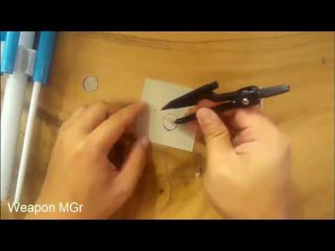 Cách Làm Súng 6 Nòng Bằng Giấy   Hướng Dẫn Làm Súng Gatling M134 Minigun