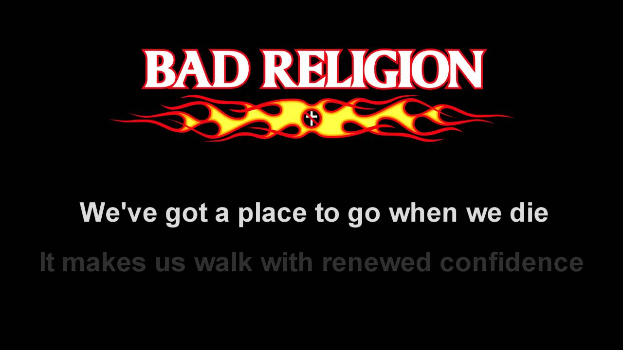 BAD RELIGION - RECIPE FOR HATE ALBUM LYRICS