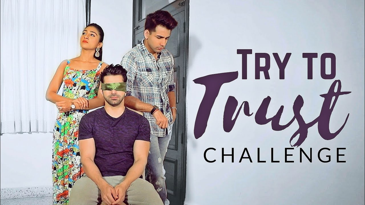 Try to TRUST Challenge | Rimorav Vlogs