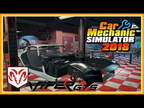 Viper Motor –  Dodge Viper GTS –   Car MECHANIC SIMULATOR 2018 Deutsch German