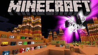 Minecraft 1.7 Snapshot: Summon New Mob Heads & Mini Blocks, Exploding Dragons, Instant House