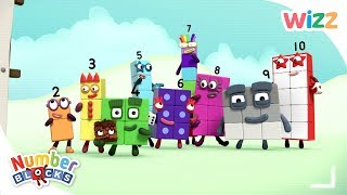 Numberblocks - Hiccups, Mirror Mirror, The Wrong Number & More   Learn to Count   Wizz