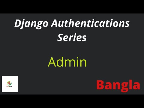 03. Django Admin (Super User)