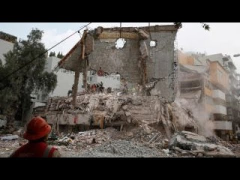 Earthquake rescue efforts winding down in Mexico City