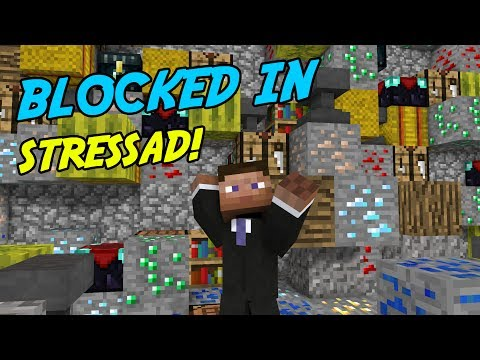 BLIR SÅ STRESSAD | Minecraft Blocked in Combat