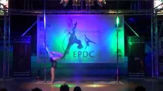 Hannah Standley - WINNER Intermediate Pole - Emma's Pole Dancing Championship 2014