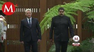Nicolás Maduro se reúne con Díaz-Canel en Cuba