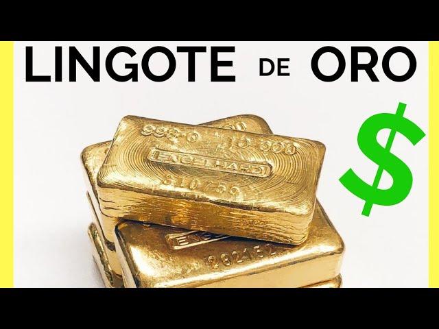 Cuanto Vale Un Lingote De Oro