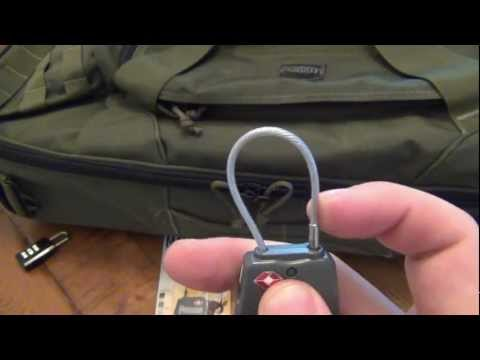 Gear Review : Maxpedition Luggage Cable Lock